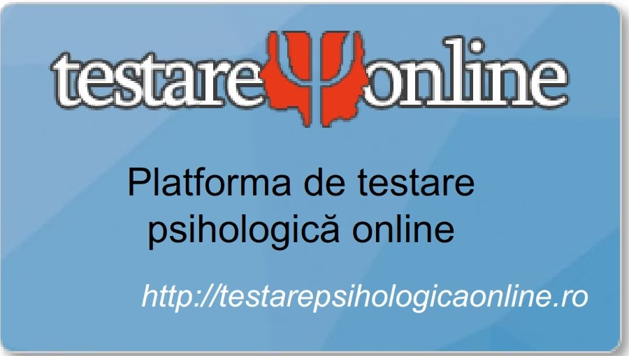 Curs Formare – TPO Platforma de testare psihologica online adult