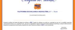 Curs de licențiere PEDb