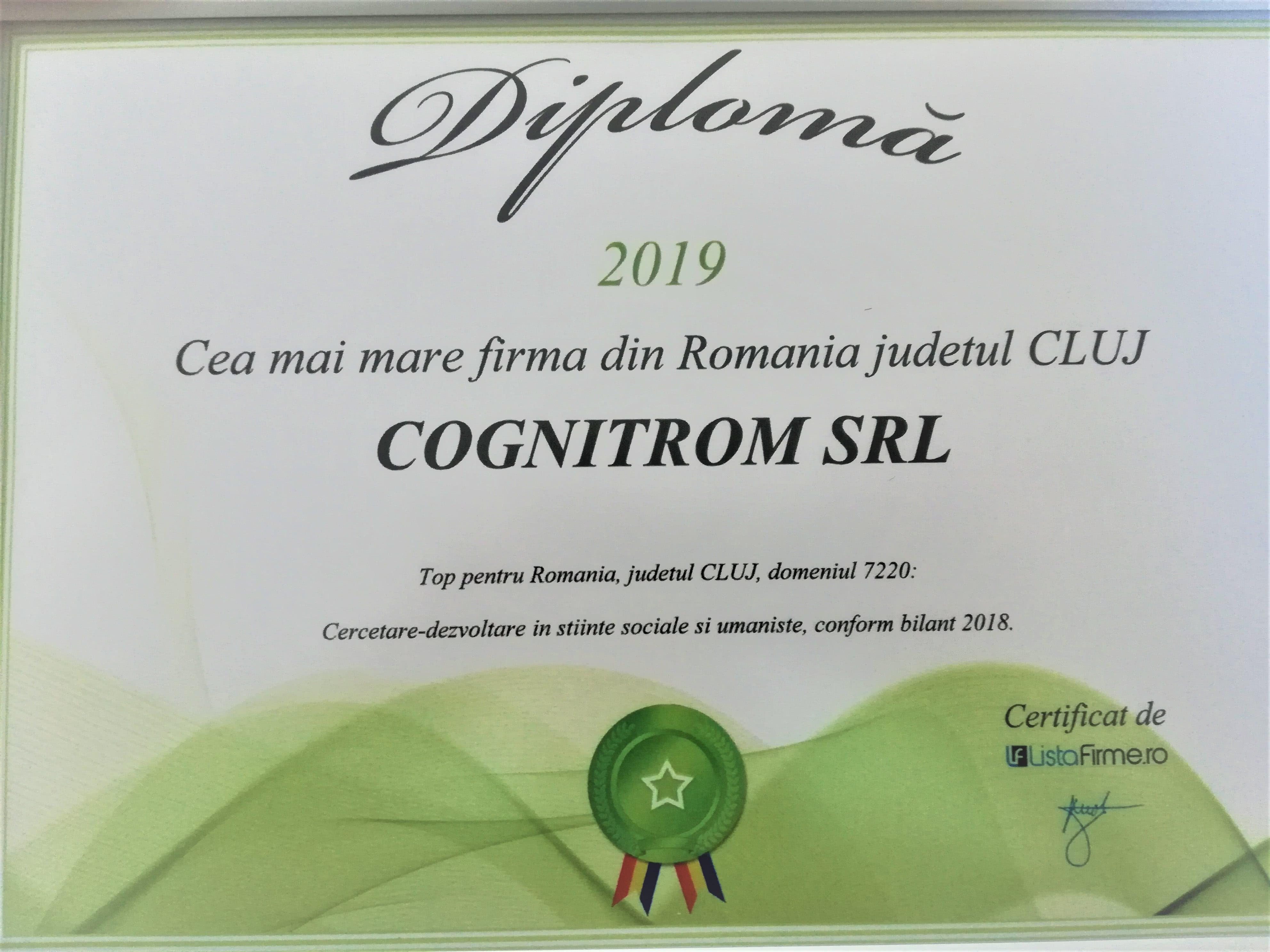 Cea mai mare firma din Romania judetul CLUJ